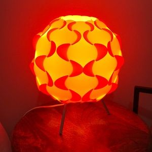 IKEA Other - Orange lamp